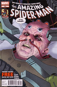 Cover Thumbnail for The Amazing Spider-Man (Marvel, 1999 series) #698 [Direct Edition]