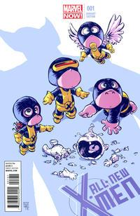 Cover for All-New X-Men (Marvel, 2013 series) #1