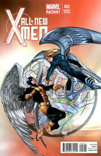 Cover Thumbnail for All-New X-Men (Marvel, 2013 series) #2 [Variant Cover by Pasqual Ferry]