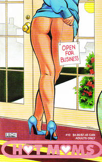 Cover Thumbnail for Hot Moms (Fantagraphics, 2003 series) #10