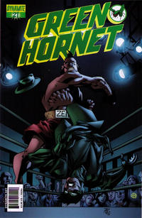 Cover Thumbnail for Green Hornet (Dynamite Entertainment, 2010 series) #21