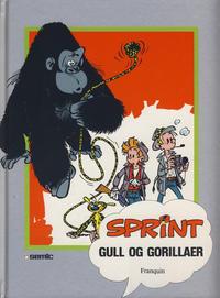 Cover Thumbnail for Sprint [Seriesamlerklubben] (Semic, 1986 series) #[12] - Gull og gorillaer