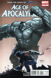 Cover for Age of Apocalypse (Marvel, 2012 series) #4
