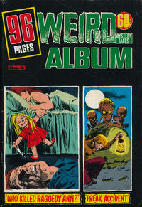 Cover Thumbnail for Weird Mystery Tales Album (K. G. Murray, 1978 series) #4