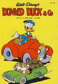 Cover Thumbnail for Donald Duck & Co (Hjemmet / Egmont, 1948 series) #10/1969