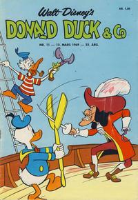 Cover Thumbnail for Donald Duck & Co (Hjemmet / Egmont, 1948 series) #11/1969