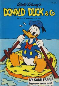 Cover Thumbnail for Donald Duck & Co (Hjemmet / Egmont, 1948 series) #13/1969