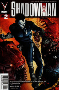Cover Thumbnail for Shadowman (Valiant Entertainment, 2012 series) #2 [Cover A - Patrick Zircher]