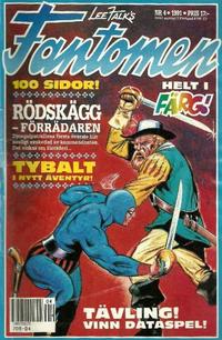 Cover Thumbnail for Fantomen (Semic, 1963 series) #4/1991