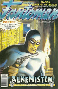 Cover for Fantomen (Egmont, 1997 series) #1/2004