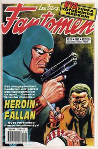 Cover Thumbnail for Fantomen (Semic, 1963 series) #16/1992