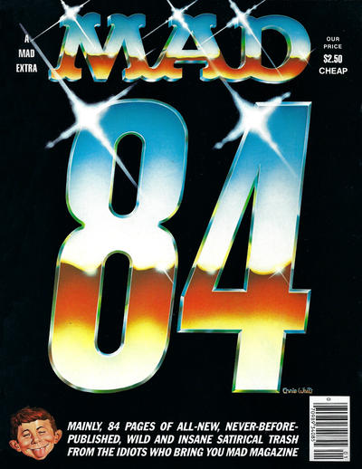 Cover for Mad 84 (EC, 1984 series) #[nn]