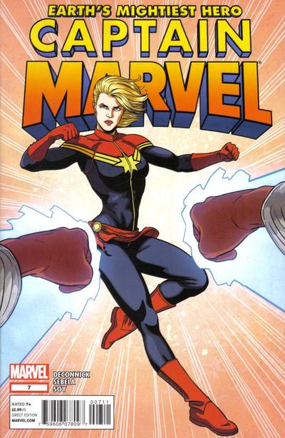 Cover for Captain Marvel (Marvel, 2012 series) #7