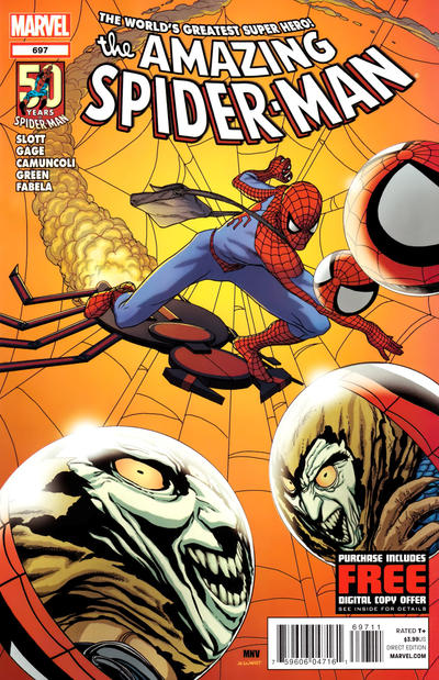 Cover for The Amazing Spider-Man (Marvel, 1999 series) #697