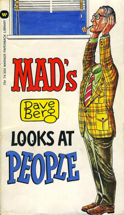 Cover for Mad's Dave Berg Looks at People (Warner Books, 1973 series) #74-304