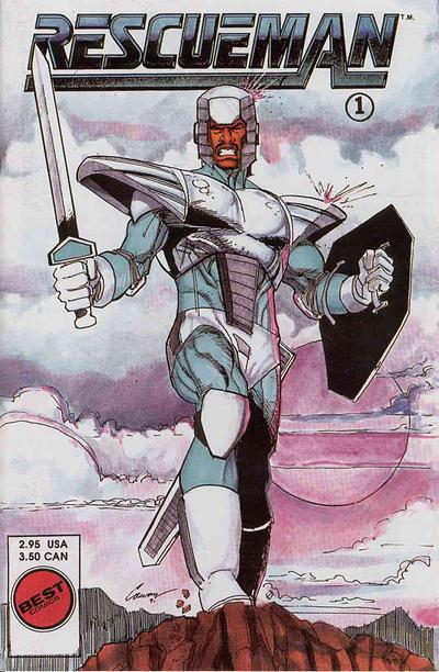 Cover for Rescueman (Personality Comics, 1992 series) #1