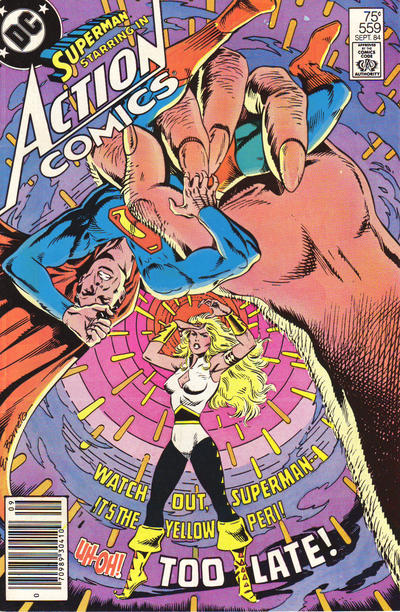 Cover for Action Comics (DC, 1938 series) #559 [Direct]