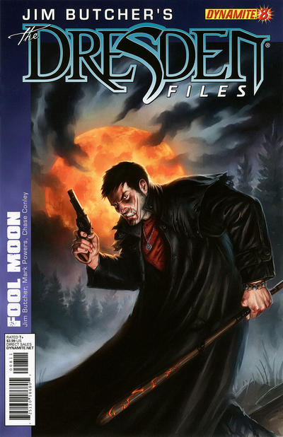 Cover for Jim Butcher's The Dresden Files: Fool Moon (Dynamite Entertainment, 2011 series) #8