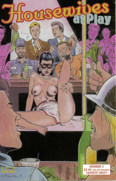 Cover for Housewives at Play (Fantagraphics, 1999 series) #3