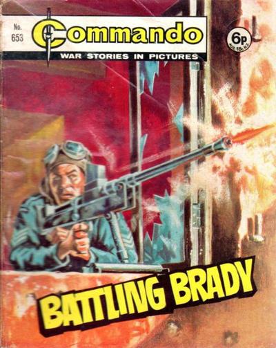 Cover for Commando (D.C. Thomson, 1961 series) #653