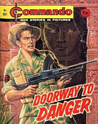 Cover for Commando (D.C. Thomson, 1961 series) #651