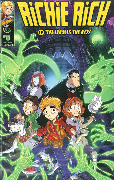 Cover for Richie Rich: Rich Rescue (Ape Entertainment, 2011 series) #6