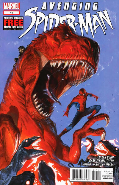 Cover for Avenging Spider-Man (Marvel, 2012 series) #15