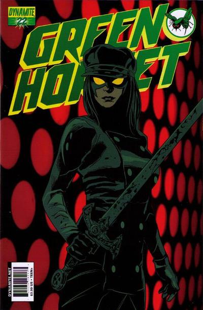Cover for Green Hornet (Dynamite Entertainment, 2010 series) #22
