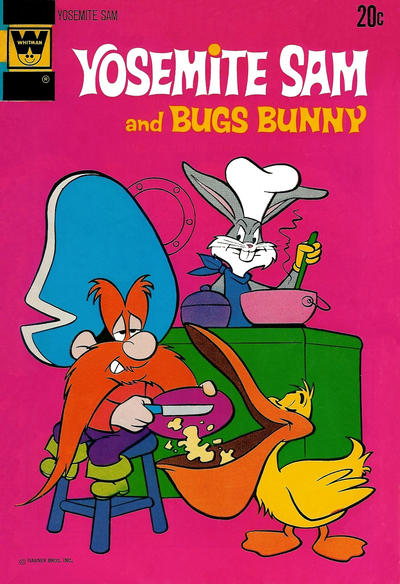 Cover for Yosemite Sam (Western, 1970 series) #15 [Gold Key Variant]
