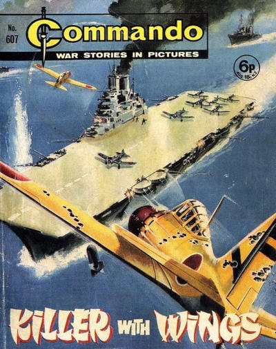 Cover for Commando (D.C. Thomson, 1961 series) #607