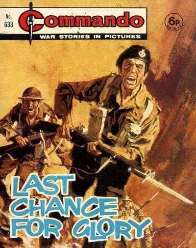 Cover for Commando (D.C. Thomson, 1961 series) #633