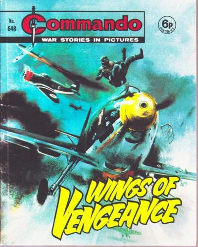 Cover for Commando (D.C. Thomson, 1961 series) #648