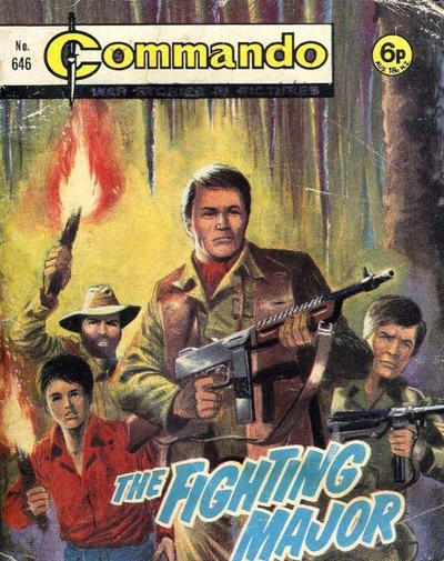 Cover for Commando (D.C. Thomson, 1961 series) #646