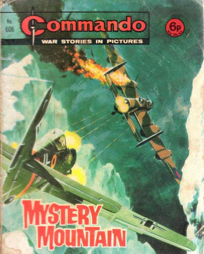 Cover for Commando (D.C. Thomson, 1961 series) #606