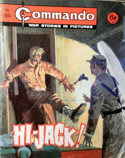 Cover for Commando (D.C. Thomson, 1961 series) #605