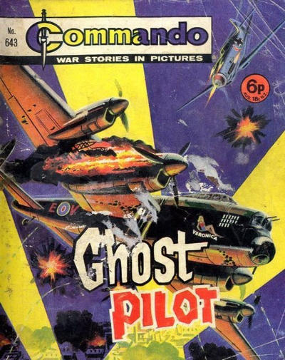 Cover for Commando (D.C. Thomson, 1961 series) #643