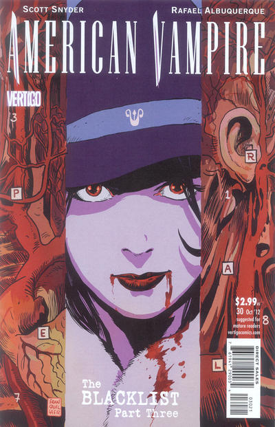 Cover for American Vampire (DC, 2010 series) #30