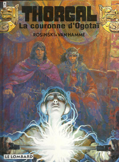 Cover for Thorgal (Le Lombard, 1980 series) #21 - La couronne d'Ogotaï