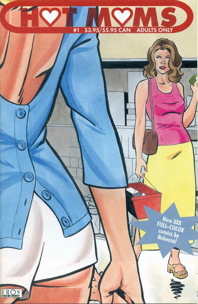 Cover for Hot Moms (Fantagraphics, 2003 series) #1