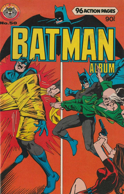 Cover for Batman Album (K. G. Murray, 1976 series) #50