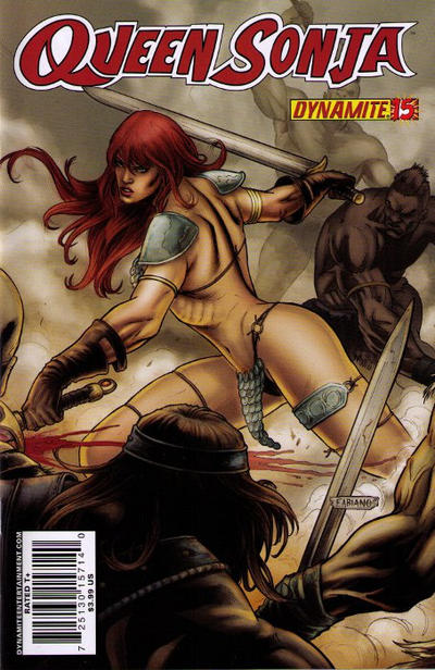 Cover for Queen Sonja (Dynamite Entertainment, 2009 series) #15 [Carlos Rafael Cover]