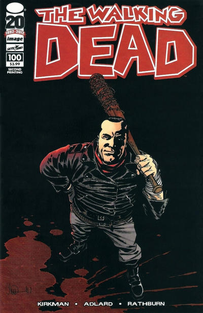 Cover for The Walking Dead (Image, 2003 series) #100 [Cover B]