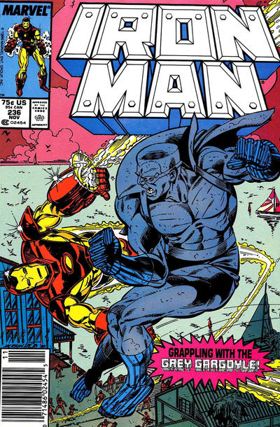 Cover for Iron Man (Marvel, 1968 series) #236 [Newsstand]