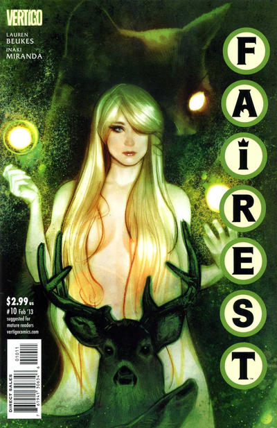 Cover for Fairest (DC, 2012 series) #10