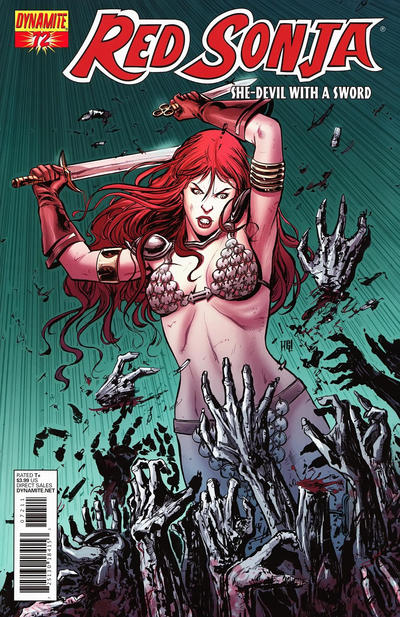Cover for Red Sonja (Dynamite Entertainment, 2005 series) #72