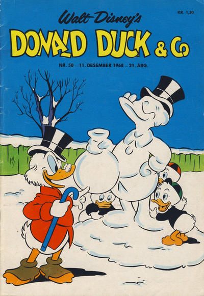 Cover for Donald Duck & Co (Hjemmet / Egmont, 1948 series) #50/1968