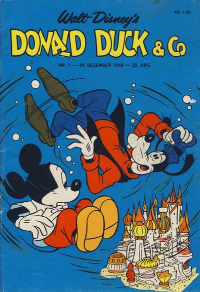 Cover for Donald Duck & Co (Hjemmet / Egmont, 1948 series) #1/1969