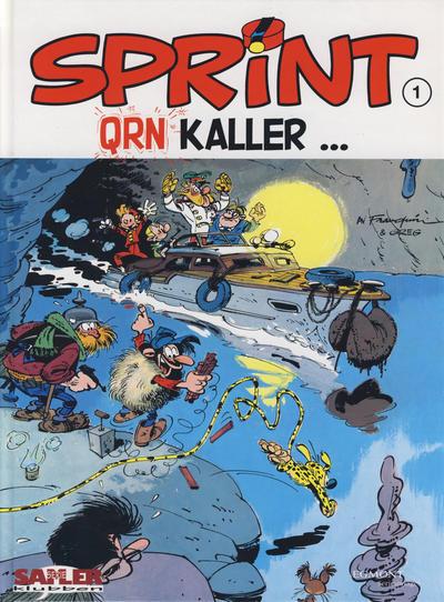 Cover for Sprint [Seriesamlerklubben] (Hjemmet / Egmont, 1998 series) #1 - QRN kaller