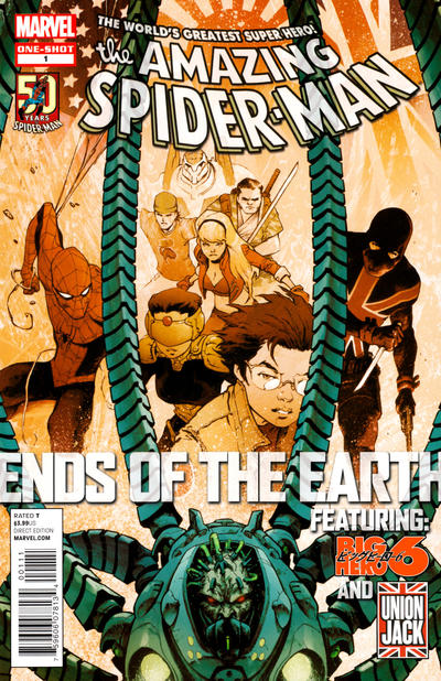 Cover for Amazing Spider-Man: Ends of the Earth (Marvel, 2012 series) #1