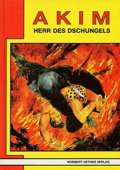 Cover for Akim  Herr des Dschungels (Norbert Hethke Verlag, 1987 series) #1